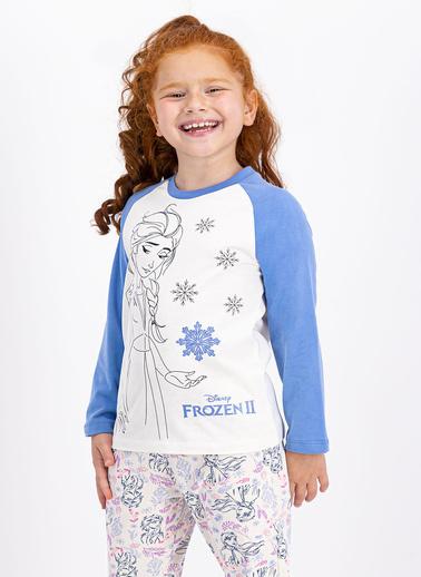 Frozen Pijama Takım Beyaz